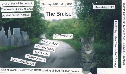 bruise june 10th flyer