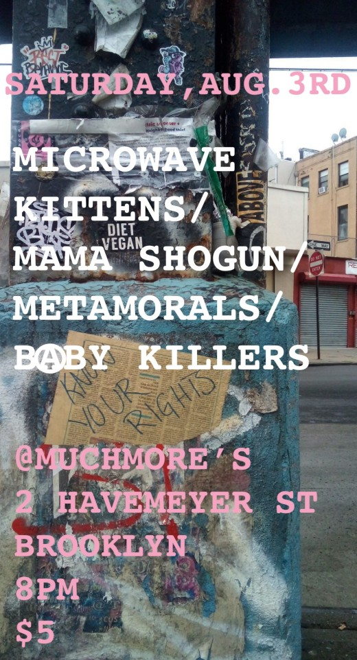 new new flyer for muchmore's show